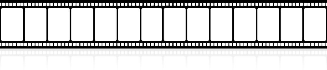 pellicule film vues rectangulaires