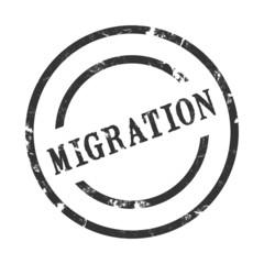 StempelGrafik Rund - Migration - g1392