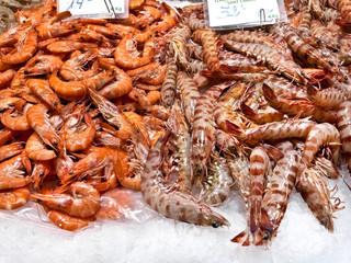 Seafood Market. Retail.