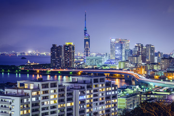 Fukuoka, Japan Skyline