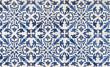 Blue and white azulejos