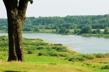 Nemunas river next to Veliuona, Lithuania