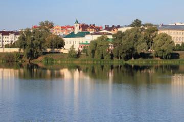 Old-Tatar settlement, Apanaevskaya Mosque. Kazan, Tatarstan