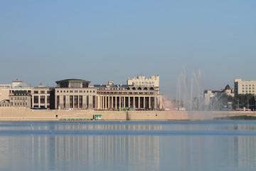Lake Kaban embankment, Kazan (Volga) Federal University