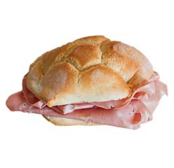 sandwich with mortadella