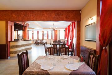 simple  restaurant interior