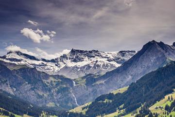 Malerisches Bergpanorama