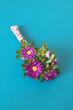 canvas print picture - kleiner Blumengruss