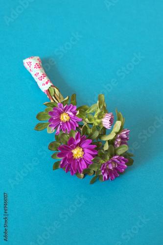 canvas print picture kleiner Blumengruss