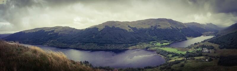 Lochs at Balquhidder Scotland