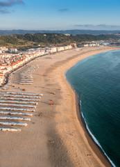 Portuguese beach from the cliffs
