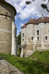 chateau de harcourt en normandie france