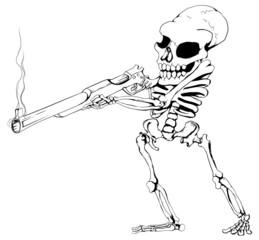 Skeleton Gunman