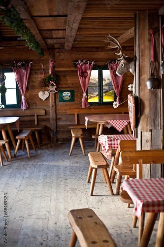 Berghaus, Berghütte, Nachbildung. - 69469324