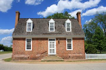 Colonial House, Yorktown,Virginia