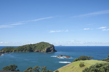 Coastal view from Tutukaka, New Zealand. Northland