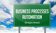 Business Processes Automation on Highway Signpost.
