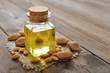 Leinwandbild Motiv Almond oil