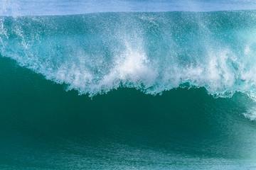 Wave Lip Crashing Power Sea Water