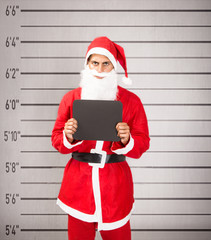 Santa Claus prisoner frontal view