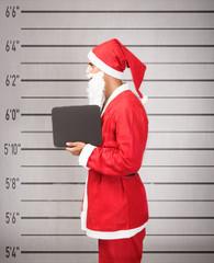 Santa Claus prisoner lateral view