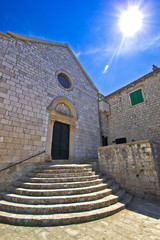 Town of Hvar old Franciscan monastery