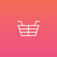 Basket - Finely crafted line icons