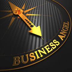 Business Angel - Golden Compass Needle.