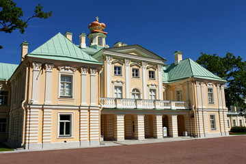 Palace in classical style
