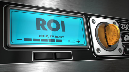 ROI on Display of Vending Machine.