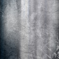 Scratched metallic background