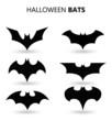 Leinwanddruck Bild - Halloween bats