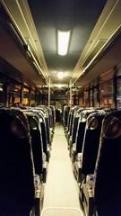 Nächtliche Busfahrt