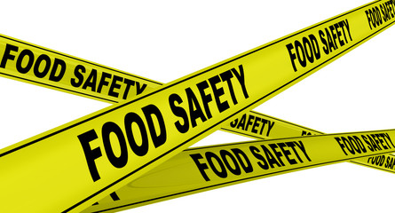 Продовольственная безопасность. Жёлтая оградительная лента