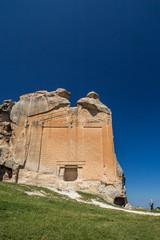 Yazilikaya with Phrygian alphapeth in Midas City.