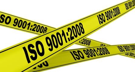 ISO 9001:2008. Жёлтая оградительная лента