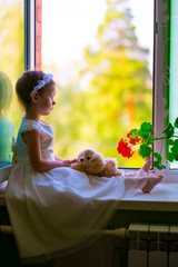 The girl on the window sill-2