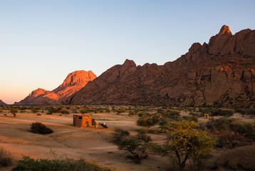 Spitzkoppe during Sunrise, Namibia