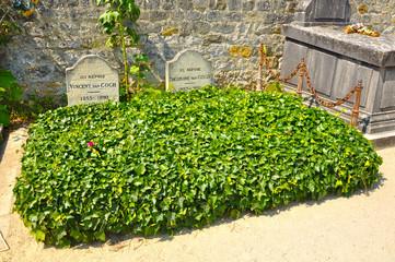Auvers-sur-Oise, tumba de Vincent Van Gogh y su hermano Theo