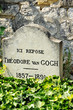 Постер, плакат: Tumba de Theo Van Gogh Auvers sur Oise Francia