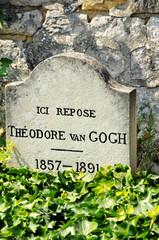 Tumba de Theo Van Gogh, Auvers-sur-Oise, Francia