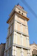 Orthodox Church tower in Zakynthos town