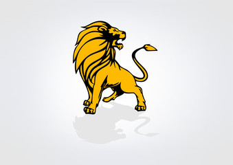 Lion Logo business