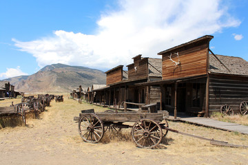 Ghost town - Cody / Wyoming
