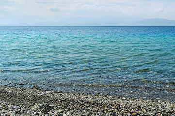 The Aegean Sea.