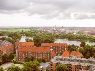 Retro look Copenhagen Denmark
