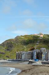 Seafront at Aberystwyth, Cardigan, Wales