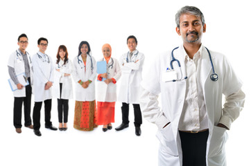 Asian medical doctors