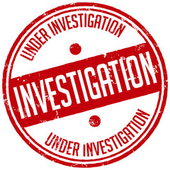 investigation stamp