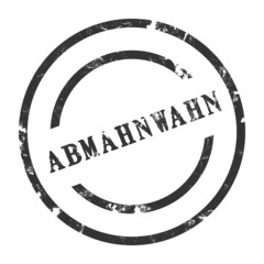 sk13 - StempelGrafik Rund - Abmahnwahn - g1433